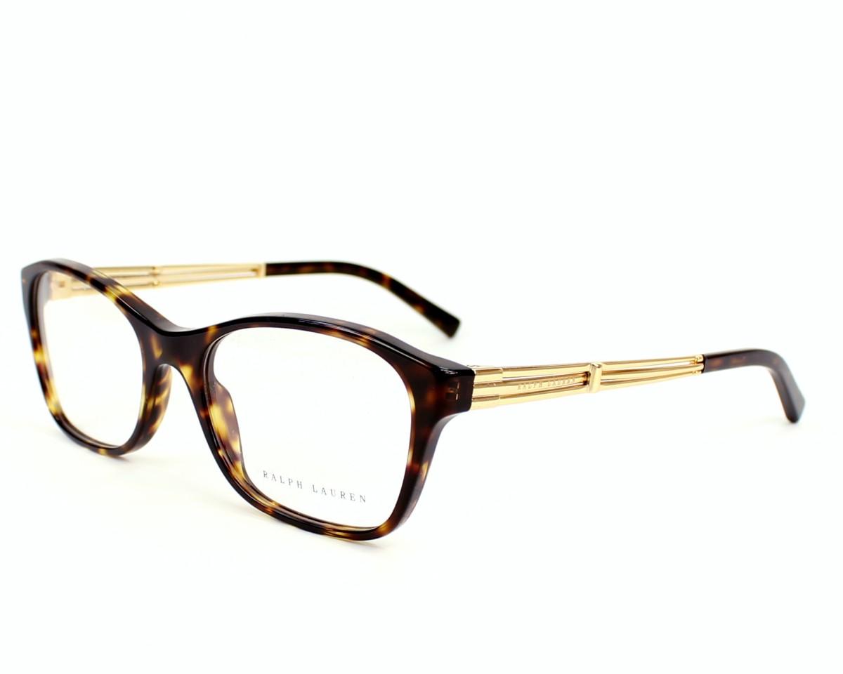 lunettes de vue ralph lauren rl 6109 5003 havane. Black Bedroom Furniture Sets. Home Design Ideas
