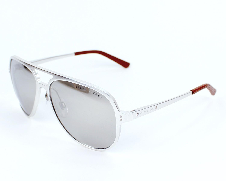 lunettes de soleil ralph lauren rl 7049 q 9293 6g aluminium avec des verres gris pour mixte. Black Bedroom Furniture Sets. Home Design Ideas