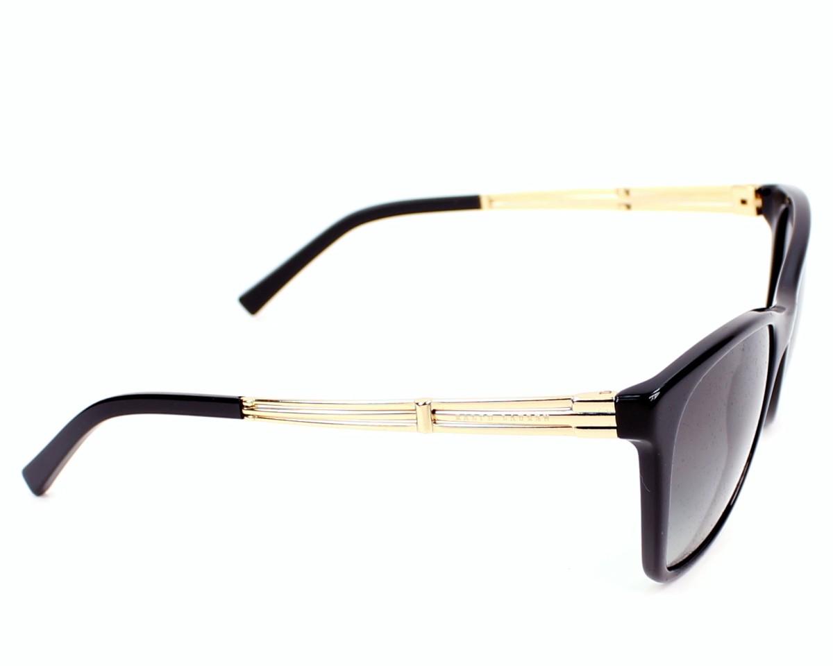 31979afdc3ee lunettes de soleil ralph lauren rl 8113 5001 11 noir avec des verres gris  pour femmes