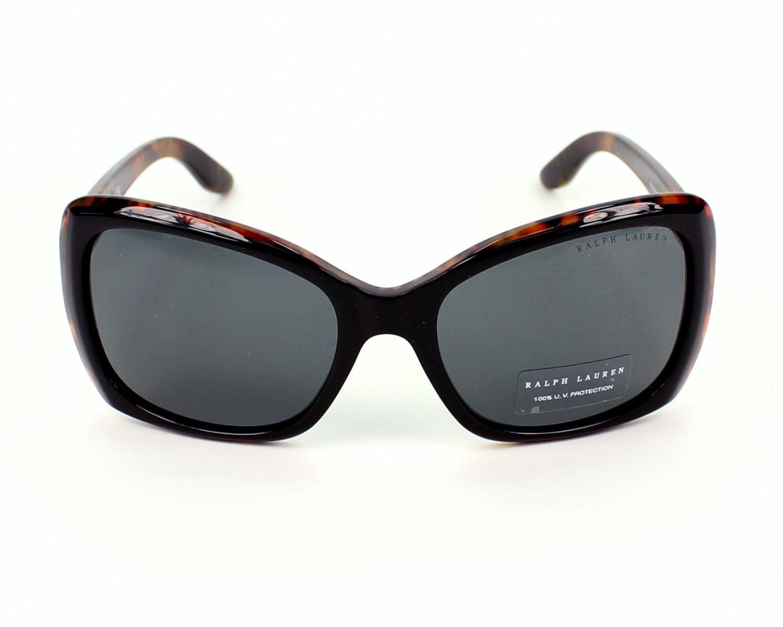lunettes de soleil ralph lauren rl 8134 5260 87 noir avec des verres gris pour femmes. Black Bedroom Furniture Sets. Home Design Ideas