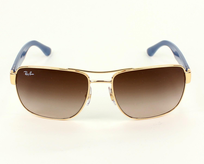 lunette de soleil homme ray ban marron