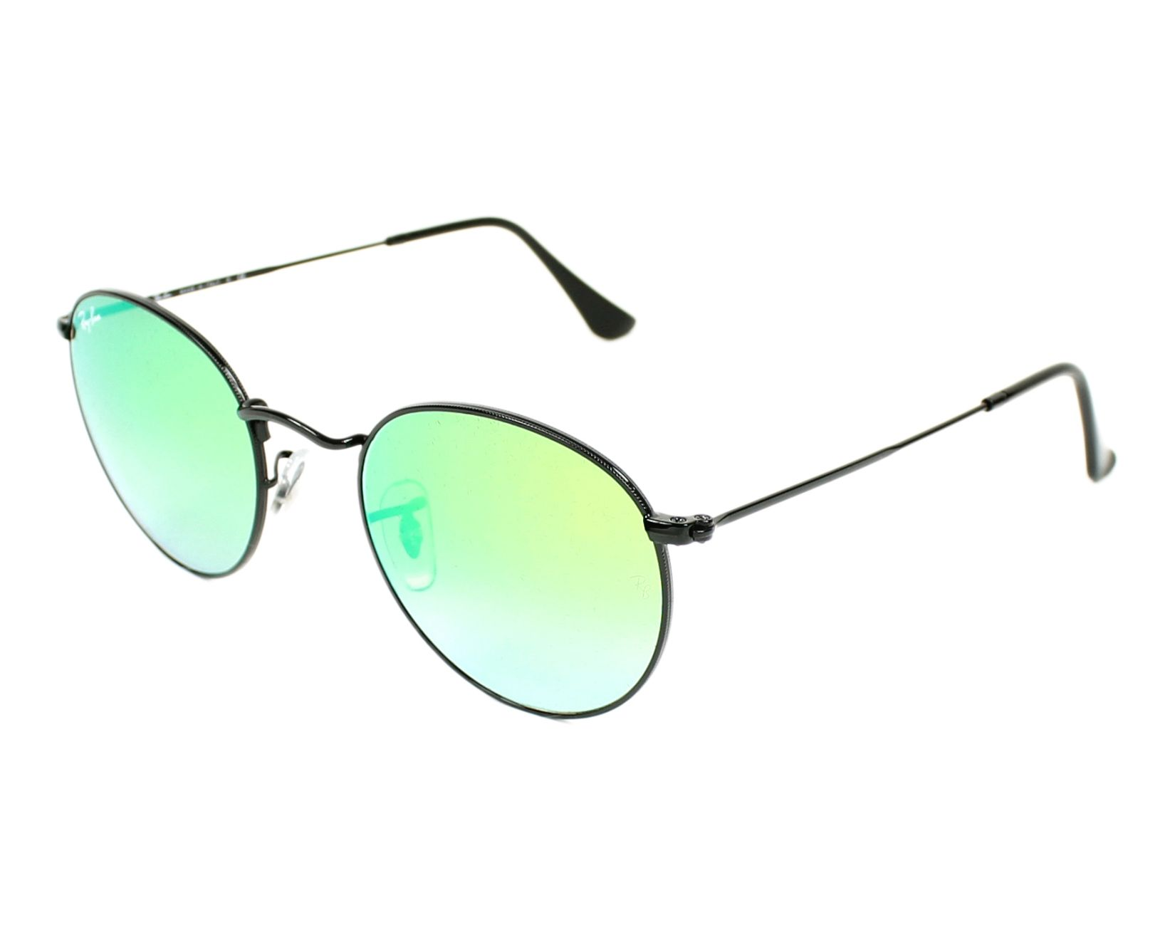 chaussures de sport dae2c 88927 Ray Ban Round Metal RB-3447 002/4J