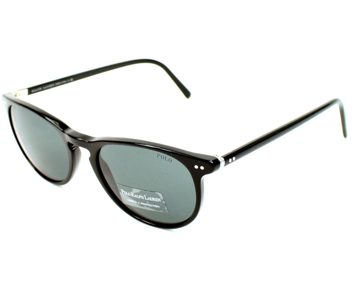 lunettes de soleil polo ralph lauren ph 4044 5001 87 noir avec des verres gris pour mixte. Black Bedroom Furniture Sets. Home Design Ideas