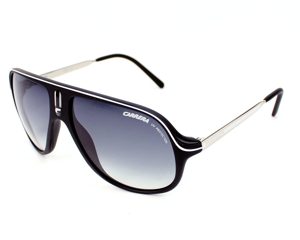 52f96a41c06f7 Lunettes de soleil Carrera Safari CSB 7V - Noir Argent vue de profil