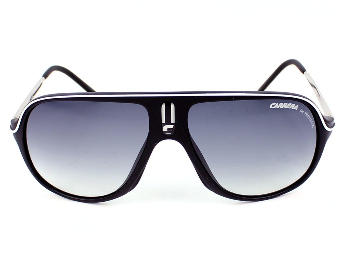 c0be2d1a67921 Lunettes de soleil Carrera Safari CSB 7V - Noir Argent vue de face