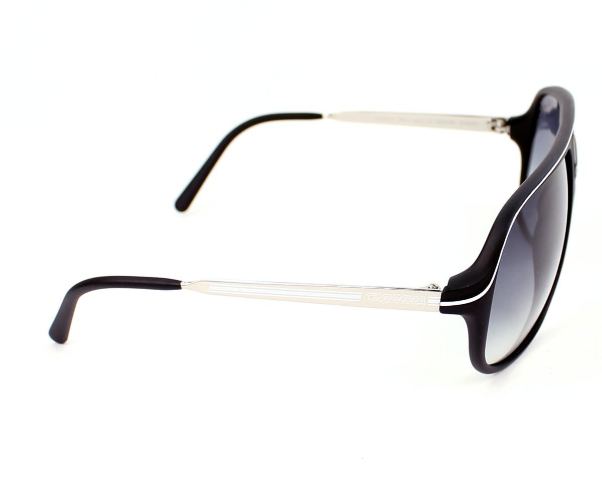 330a3b15ab159 Lunettes de soleil Carrera Safari CSB 7V - Noir Argent vue de côté