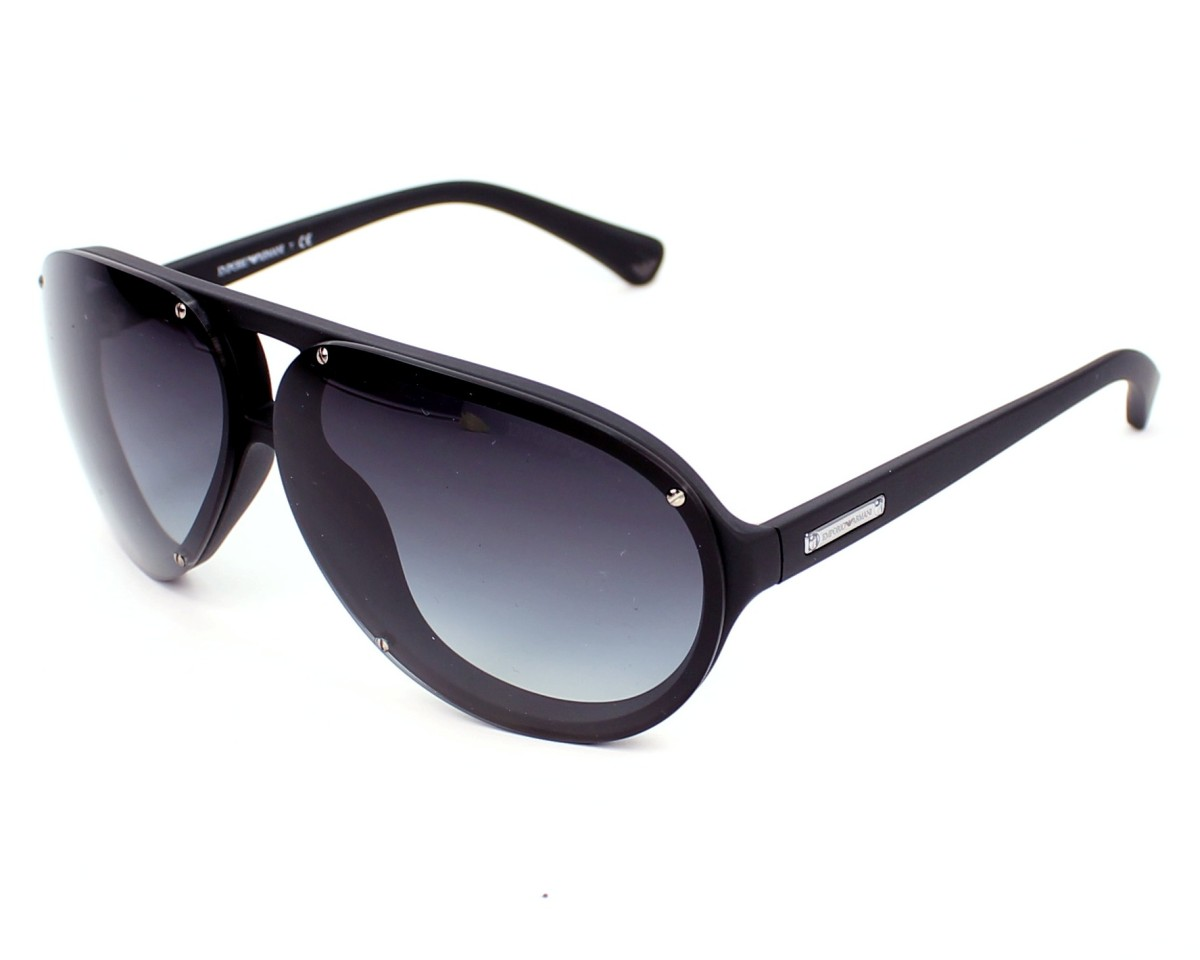 5df5e9ea9d903f Lunettes de soleil Emporio Armani EA-4010 50428G - Noir vue de profil