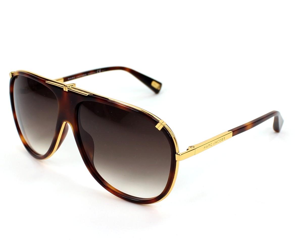 lunettes de soleil marc jacobs mj 306 s 001 js 61 visionet. Black Bedroom Furniture Sets. Home Design Ideas