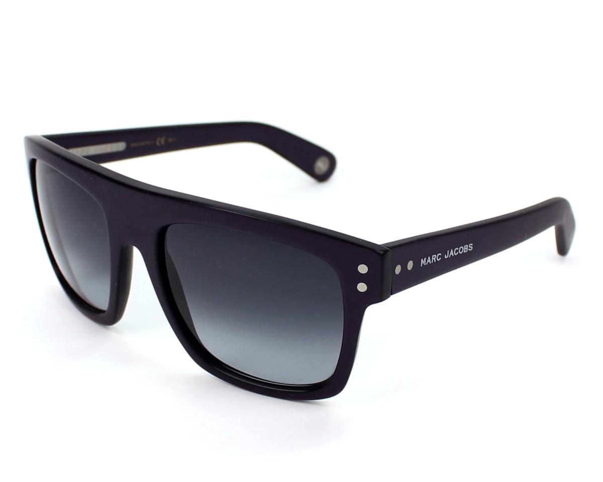 lunettes de soleil marc jacobs mj 406 s yor hd 55 visionet. Black Bedroom Furniture Sets. Home Design Ideas