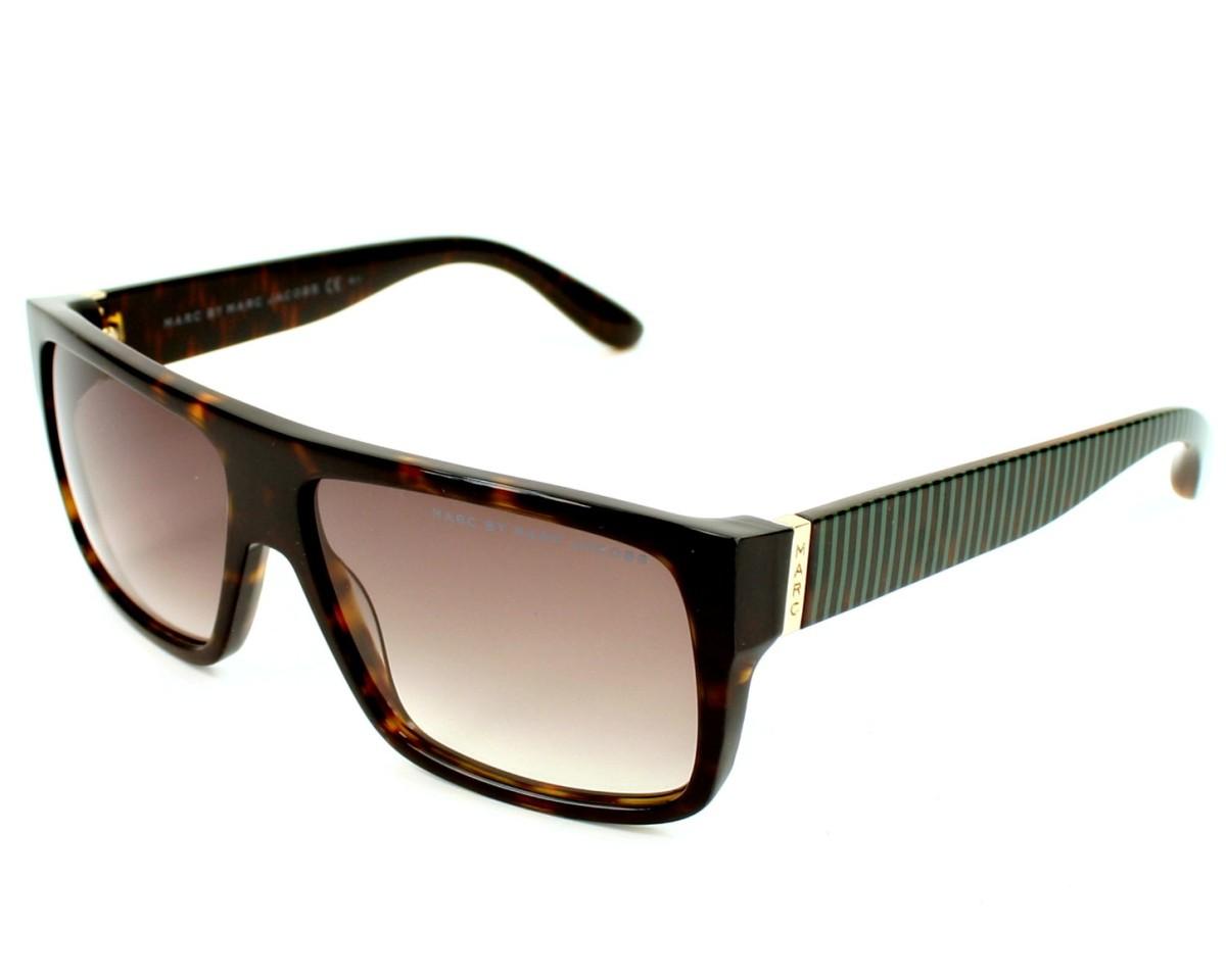 marc jacobs sunglasses mmj 096 s bu9 js havana visionet. Black Bedroom Furniture Sets. Home Design Ideas