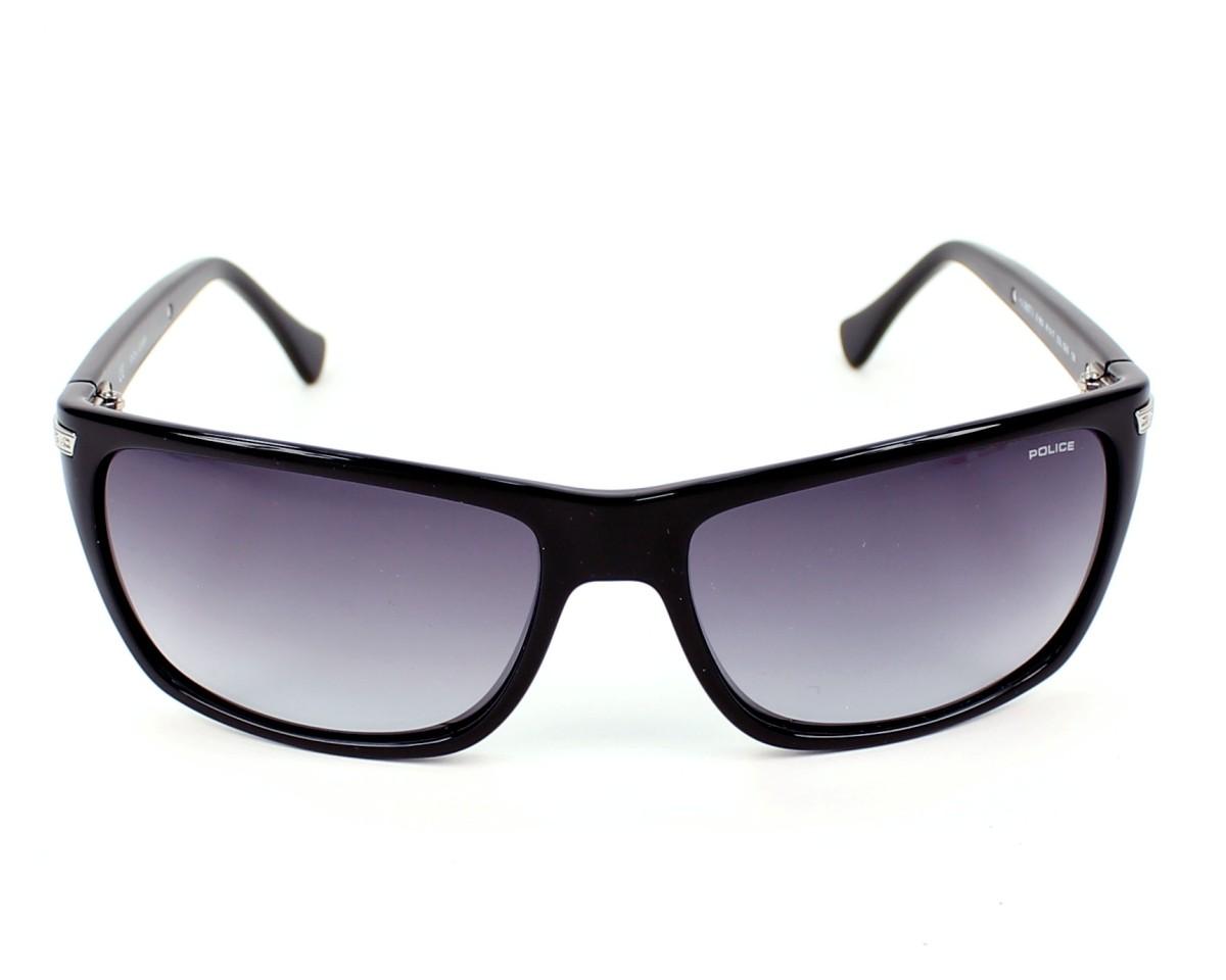lunettes de soleil police s 1802 0z42 noir pas cher visionet. Black Bedroom Furniture Sets. Home Design Ideas