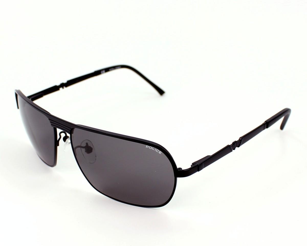 lunettes de soleil police s 8745 531f noir visionet. Black Bedroom Furniture Sets. Home Design Ideas