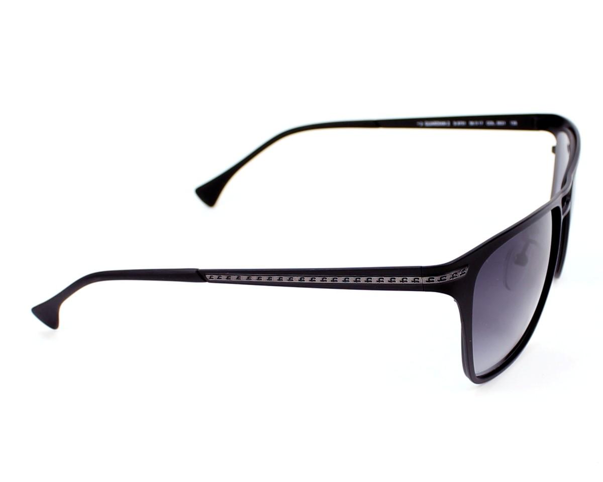 lunettes de soleil police s 8751 0531 noir pas cher visionet. Black Bedroom Furniture Sets. Home Design Ideas