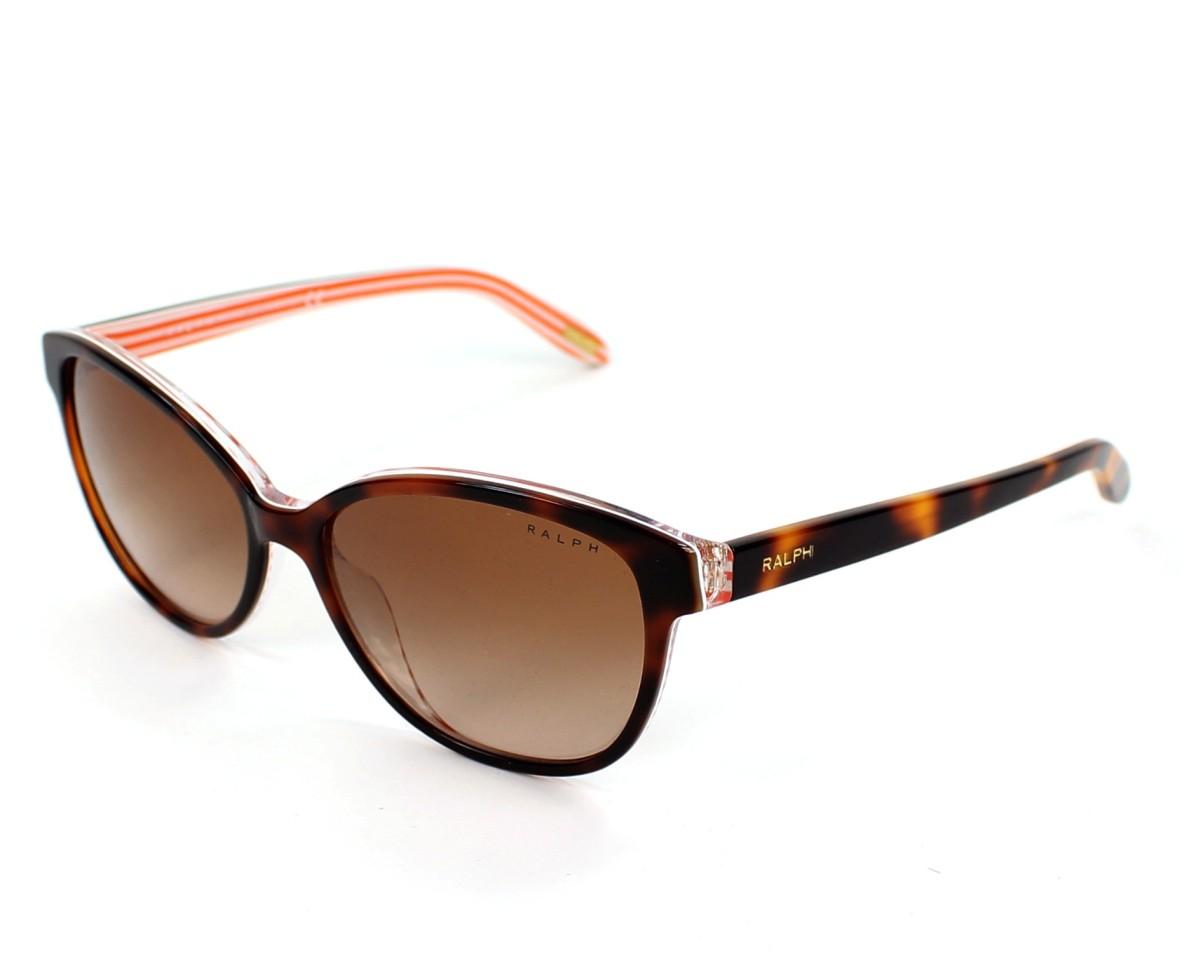lunettes de soleil ralph by ralph lauren ra 5128 977 13 havane avec des verres marron. Black Bedroom Furniture Sets. Home Design Ideas