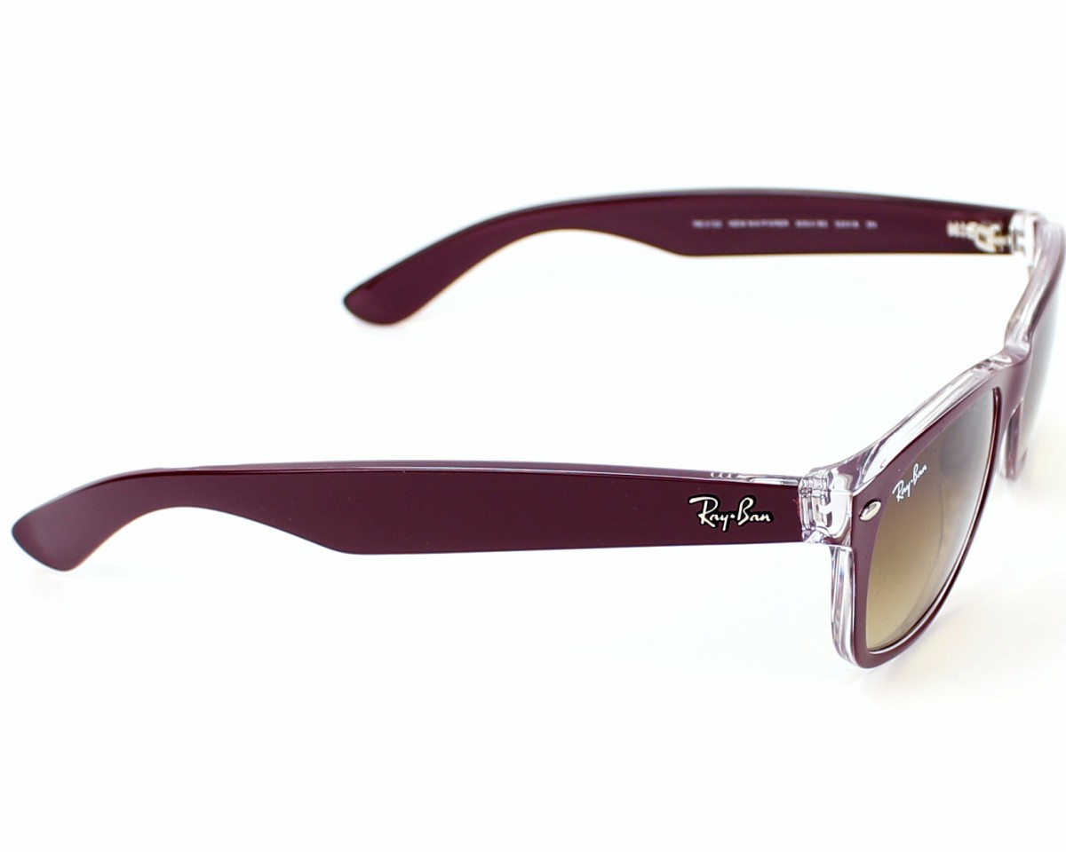 ray ban gafas wayfarer marrón rb2132