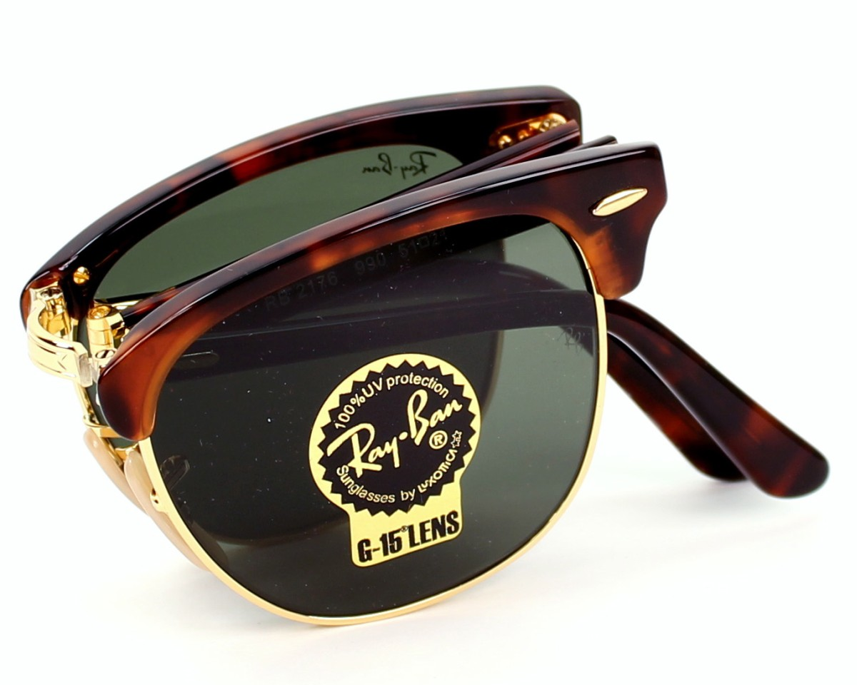 Ray Ban Clubmaster Folding RB 2176 990