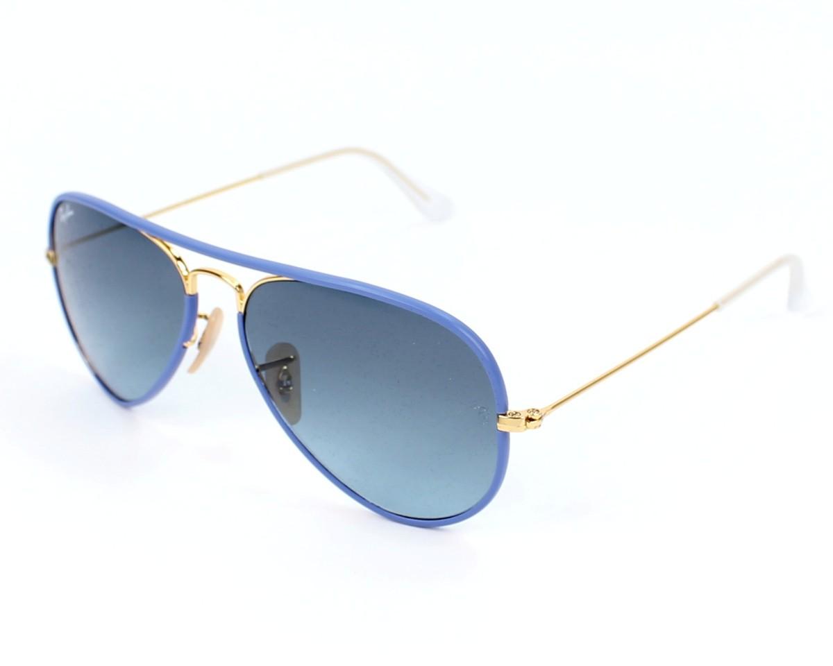 lunette ray ban aviator bleu