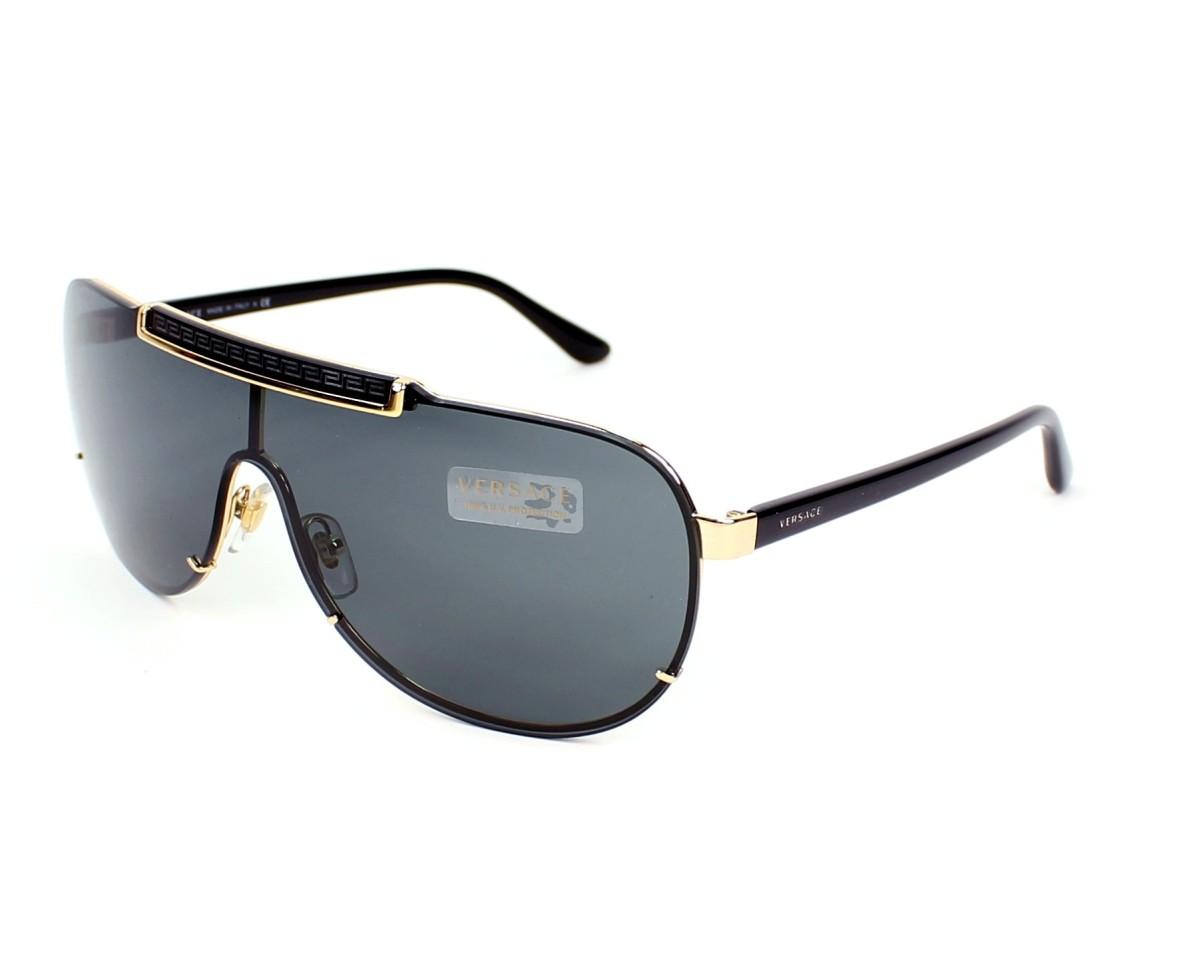 achat lunettes de soleil versace ve 2140 1002 87 visionet. Black Bedroom Furniture Sets. Home Design Ideas