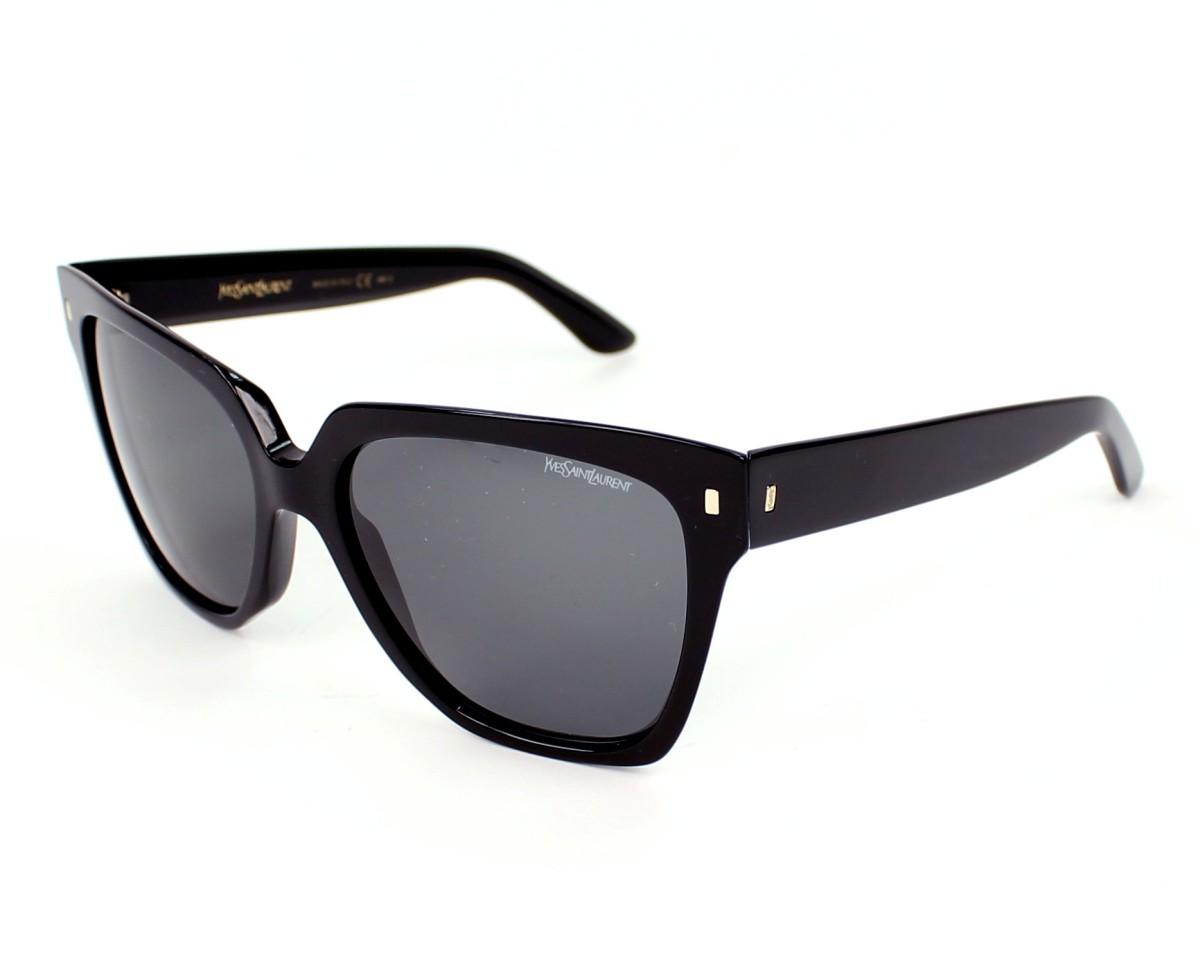 lunettes de soleil de yves saint laurent en ysl 6351 s 807p9. Black Bedroom Furniture Sets. Home Design Ideas