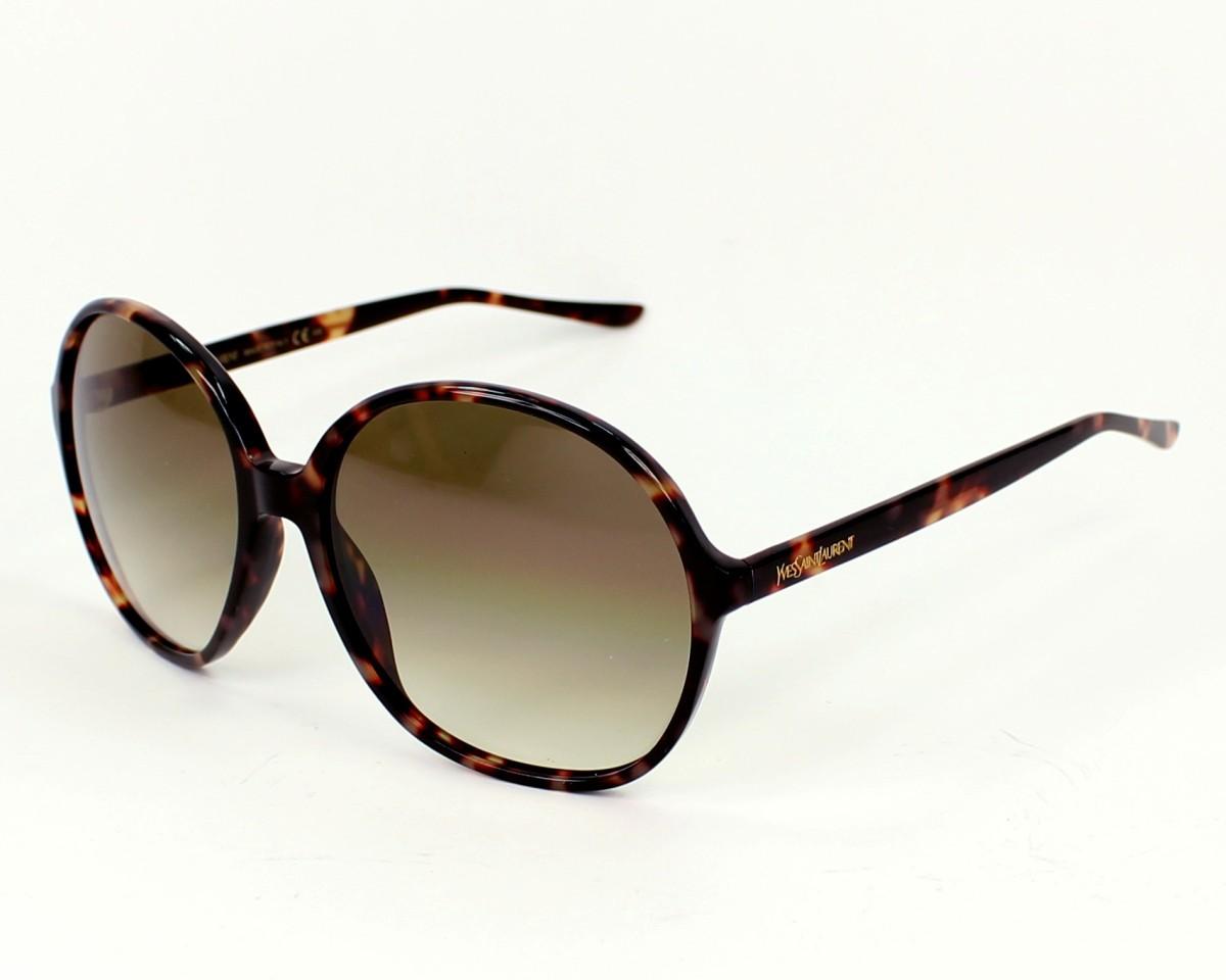 lunettes de soleil de yves saint laurent en ysl 6380 s m67hm. Black Bedroom Furniture Sets. Home Design Ideas