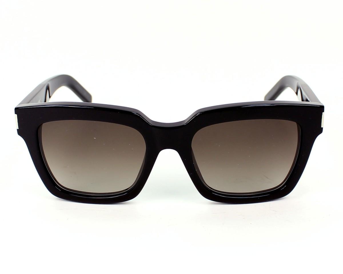 Lunettes de soleil Yves Saint Laurent YSLBOLD-1 807HA - Noir vue de face 5832e396253e