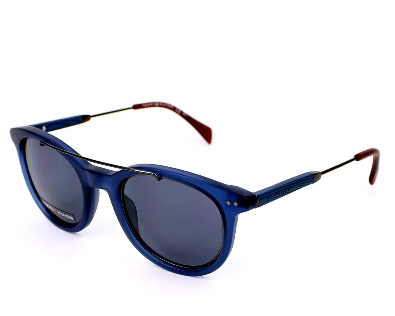 acheter des lunettes de soleil tommy hilfiger th 1348 s ju7 72 visionet. Black Bedroom Furniture Sets. Home Design Ideas