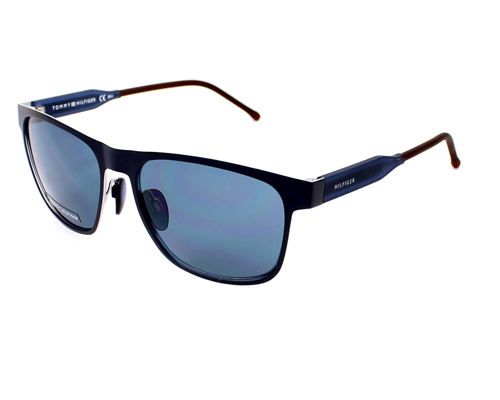 lunettes de soleil tommy hilfiger th 1394 s r19 8f bleu pas cher visionet. Black Bedroom Furniture Sets. Home Design Ideas
