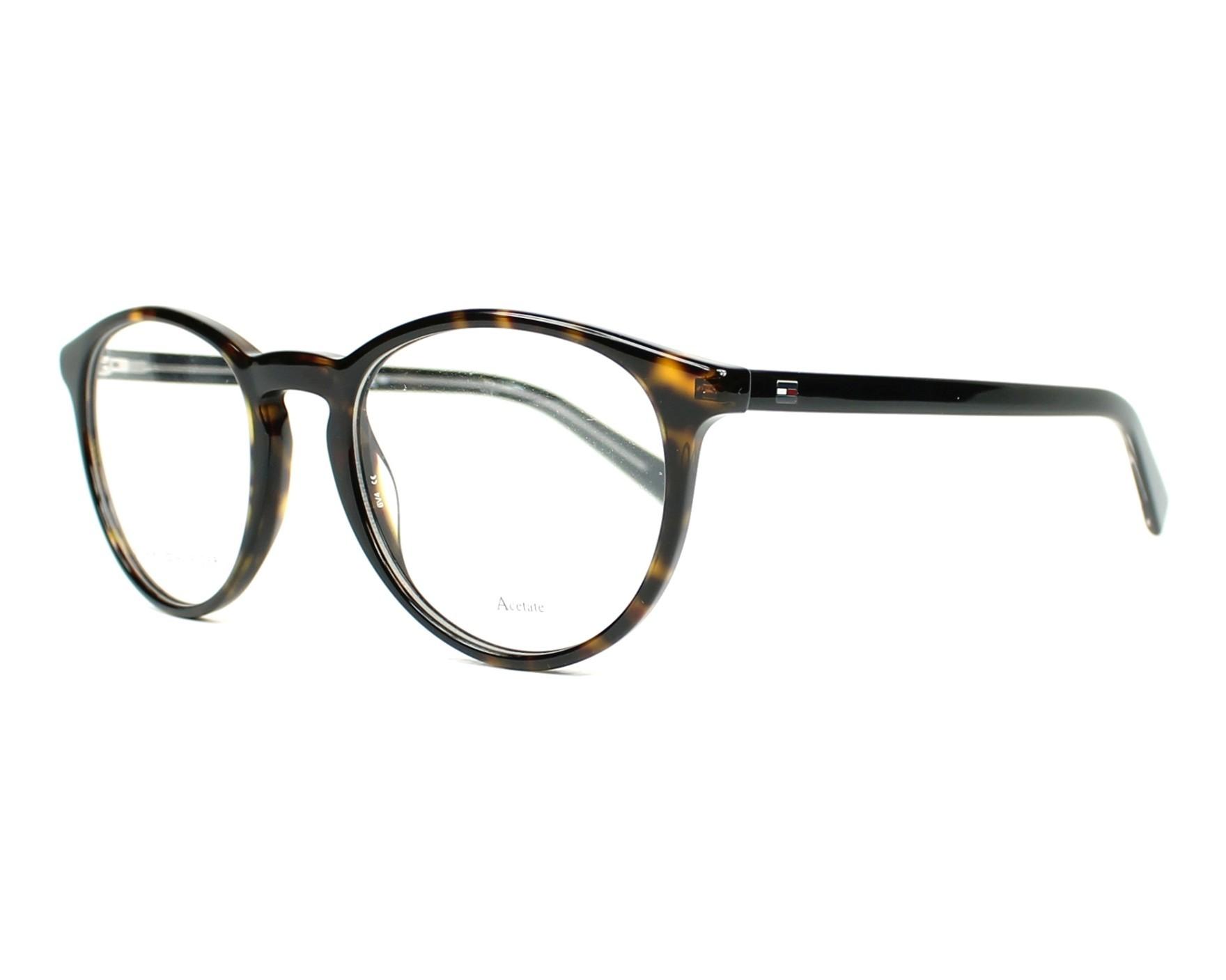 lunettes de vue tommy hilfiger th 1451 9wz havane. Black Bedroom Furniture Sets. Home Design Ideas