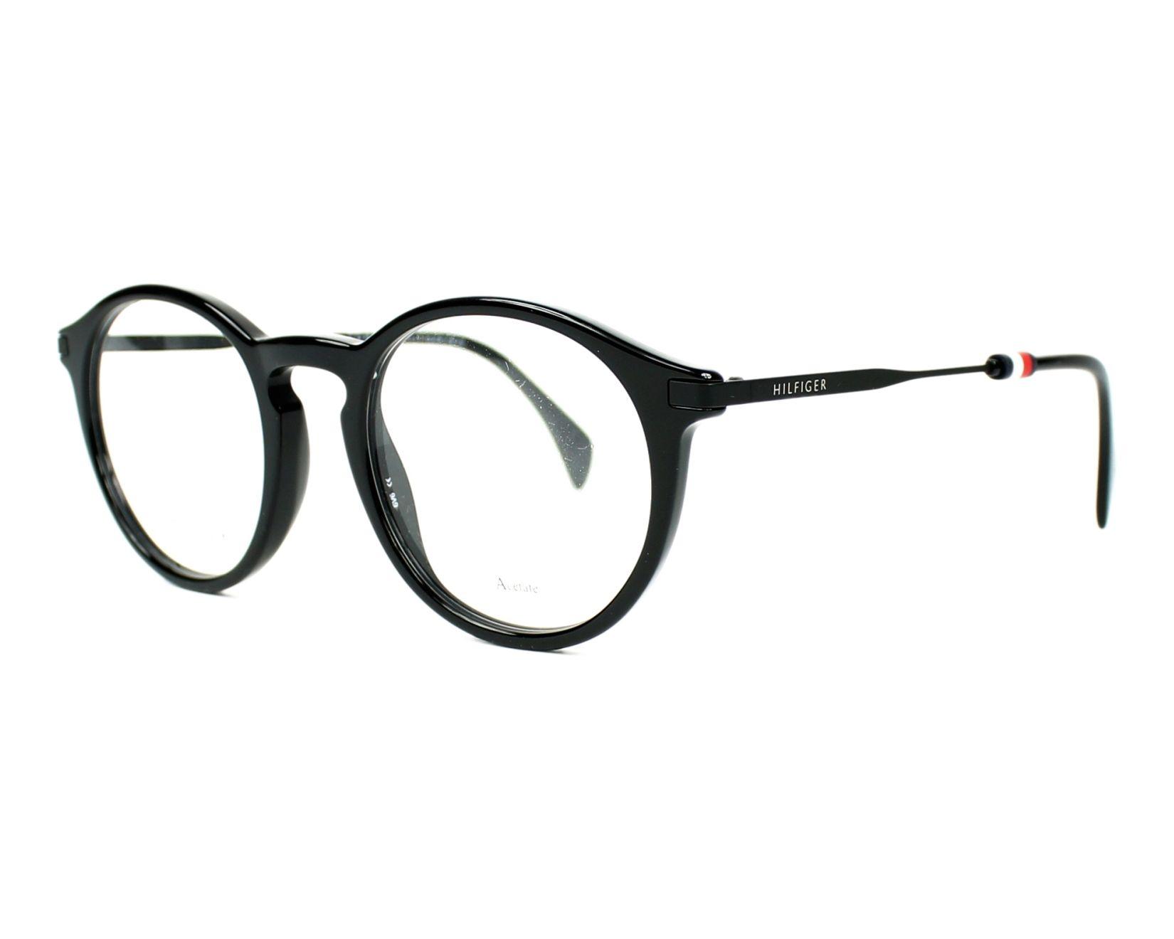 lunettes de vue tommy hilfiger th 1471 807 noir. Black Bedroom Furniture Sets. Home Design Ideas