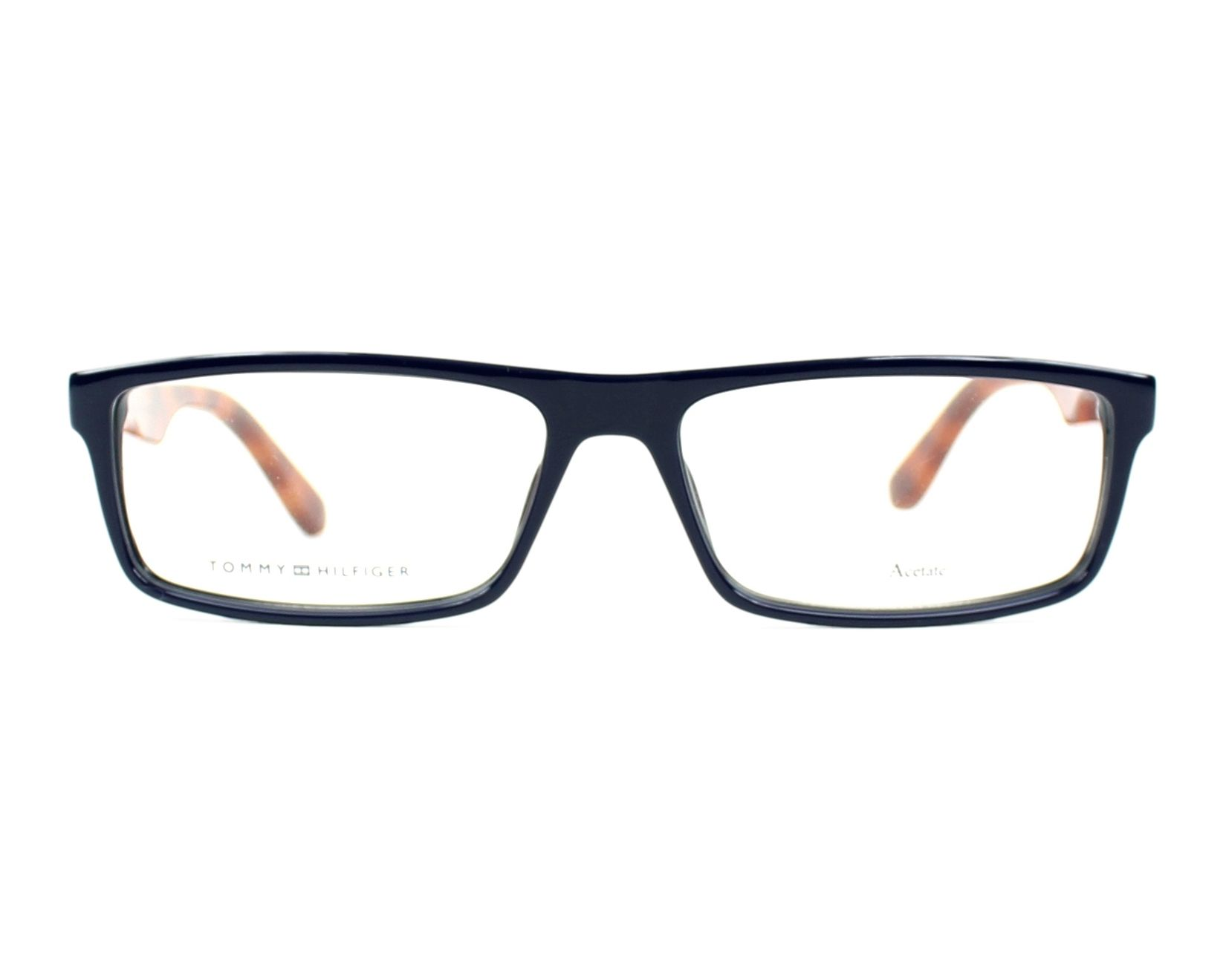 lunettes de vue tommy hilfiger th 1488 pjp bleu. Black Bedroom Furniture Sets. Home Design Ideas