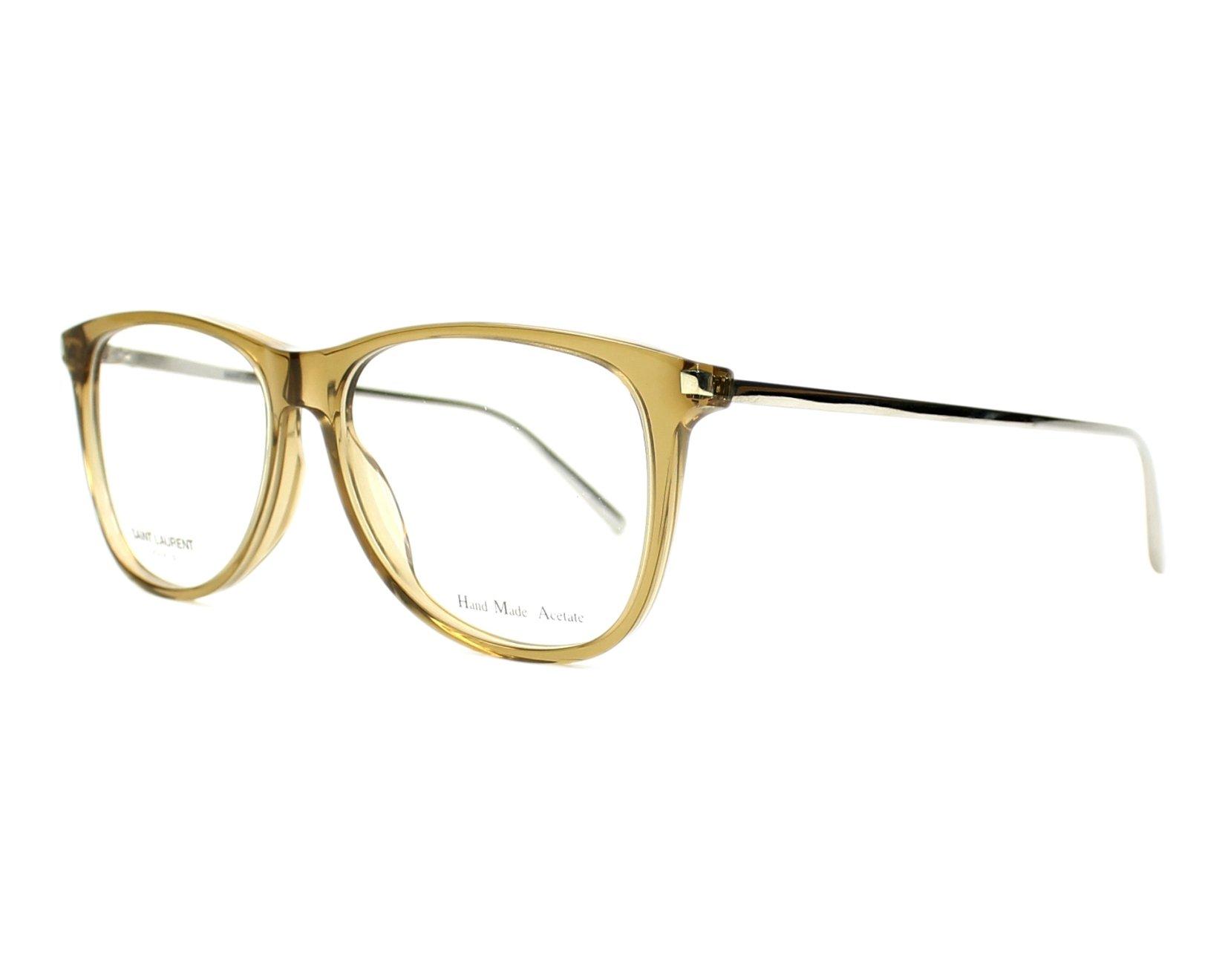 Yves saint laurent eyeglasses sl 79 bhx beige visionet usa for Miroir yves saint laurent