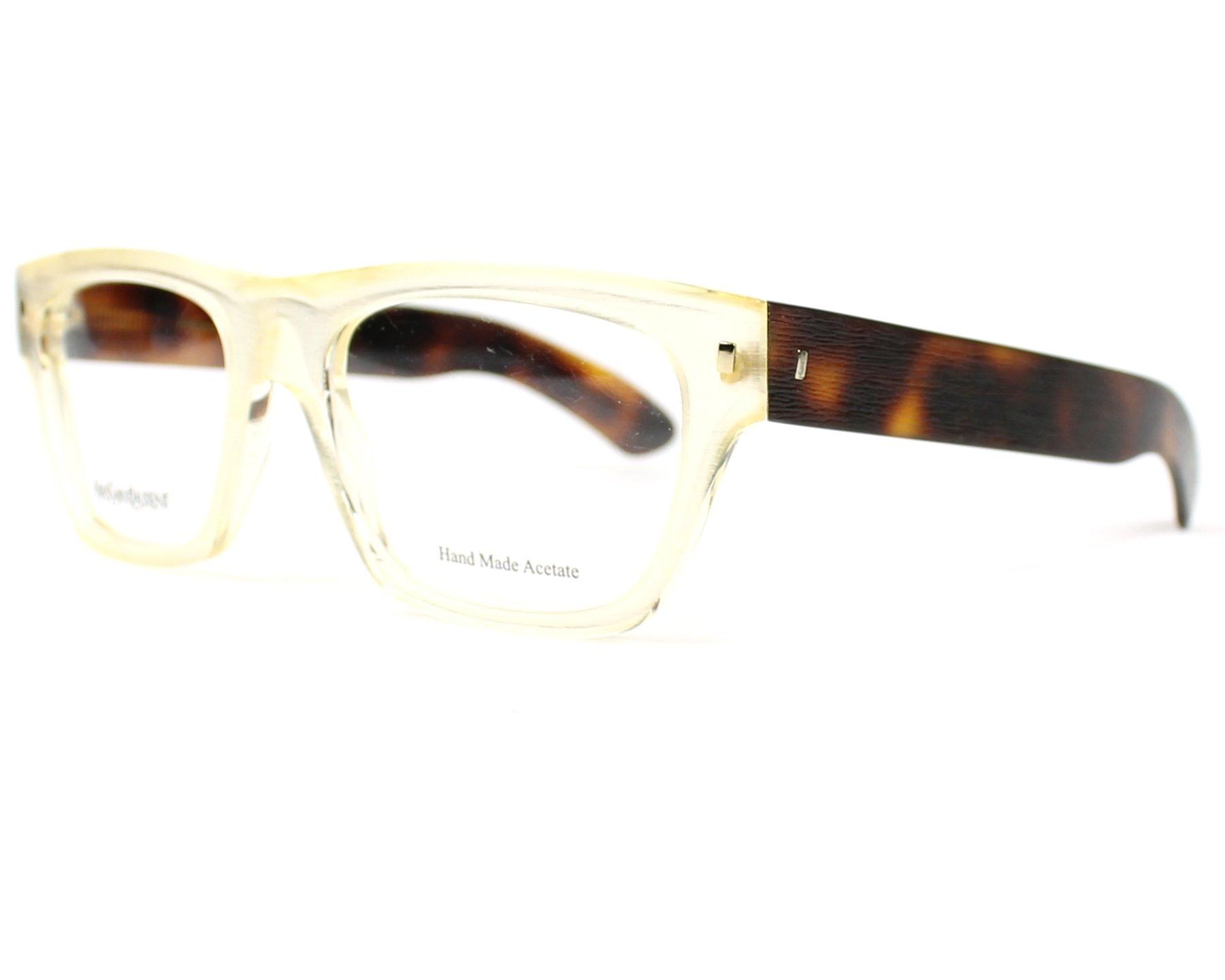 Yves saint laurent eyeglasses ysl 2313 95w white visionet for Miroir yves saint laurent