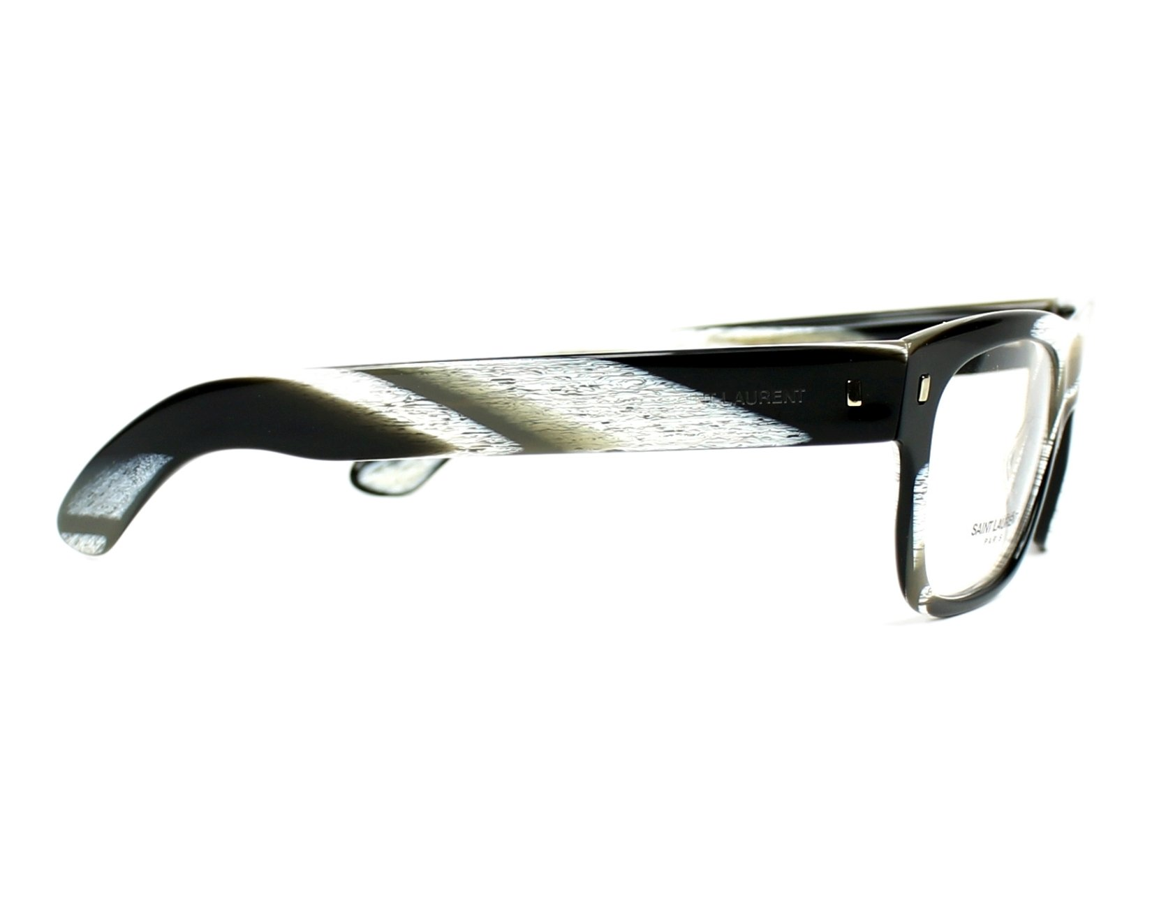 Yves saint laurent eyeglasses ysl 2313 n 5my black visionet for Miroir yves saint laurent