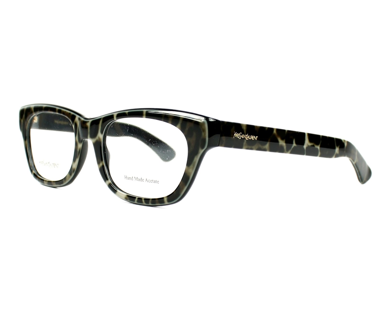 lunettes de vue yves saint laurent ysl 2321 yxo noir monture mixte. Black Bedroom Furniture Sets. Home Design Ideas