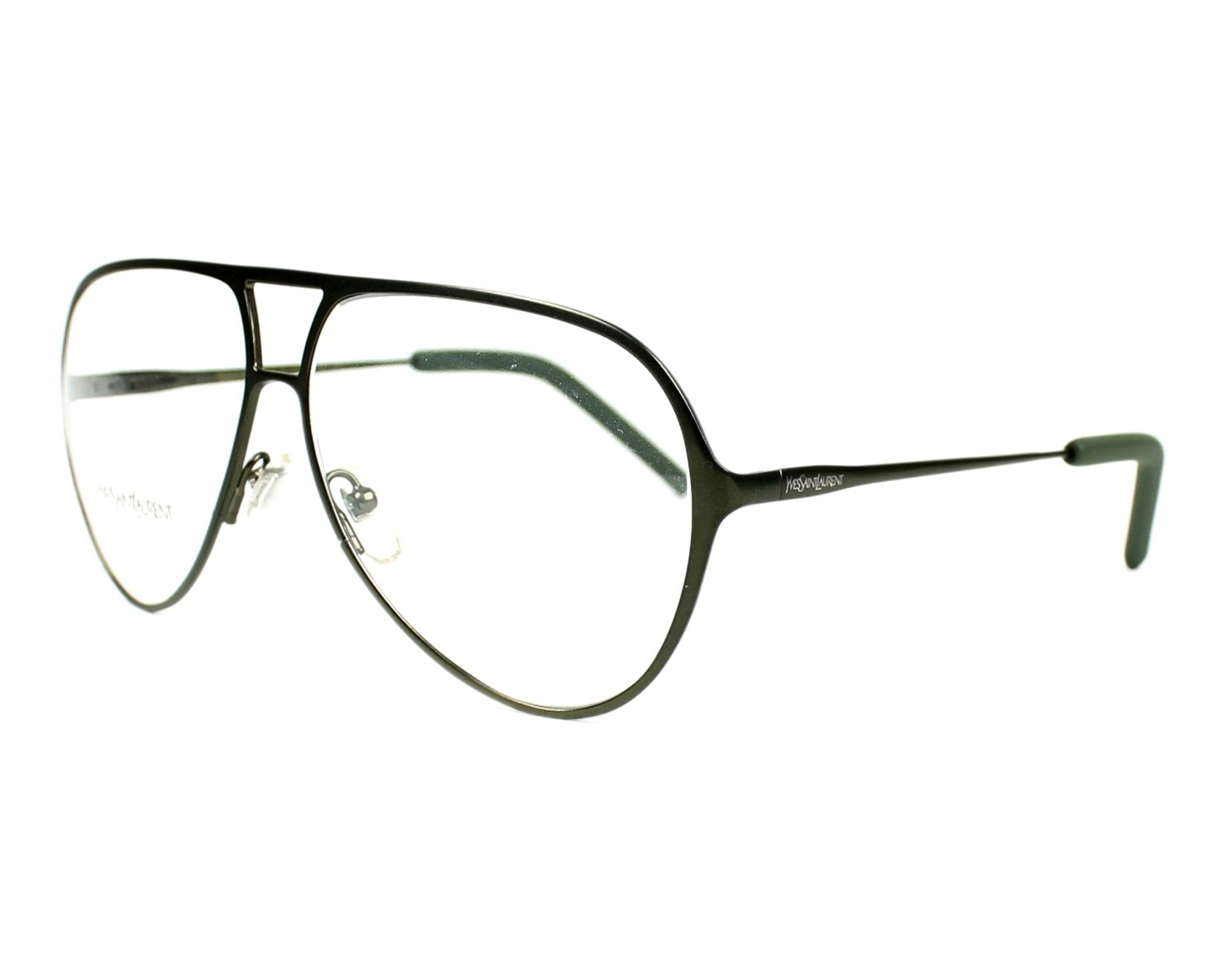 yves saint laurent eyeglasses ysl 2325 09p green visionet. Black Bedroom Furniture Sets. Home Design Ideas