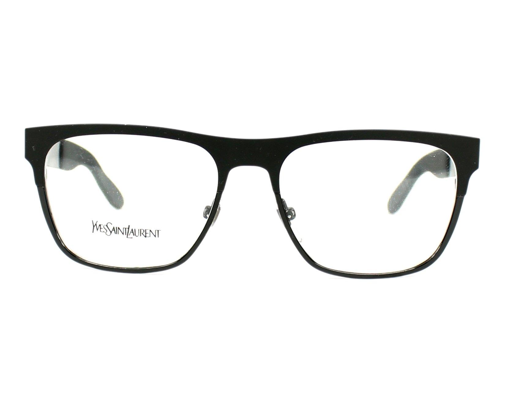 Yves saint laurent eyeglasses ysl 2329 yyb black visionet for Miroir yves saint laurent