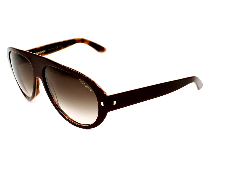 lunettes de soleil de yves saint laurent en ysl 2333 s yxrjs. Black Bedroom Furniture Sets. Home Design Ideas