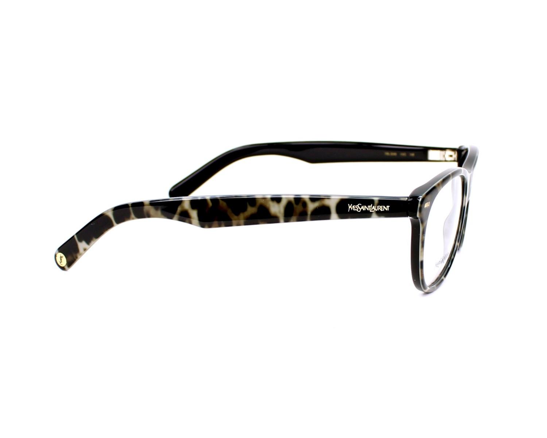 Yves saint laurent eyeglasses ysl 2349 yxo black visionet for Miroir yves saint laurent