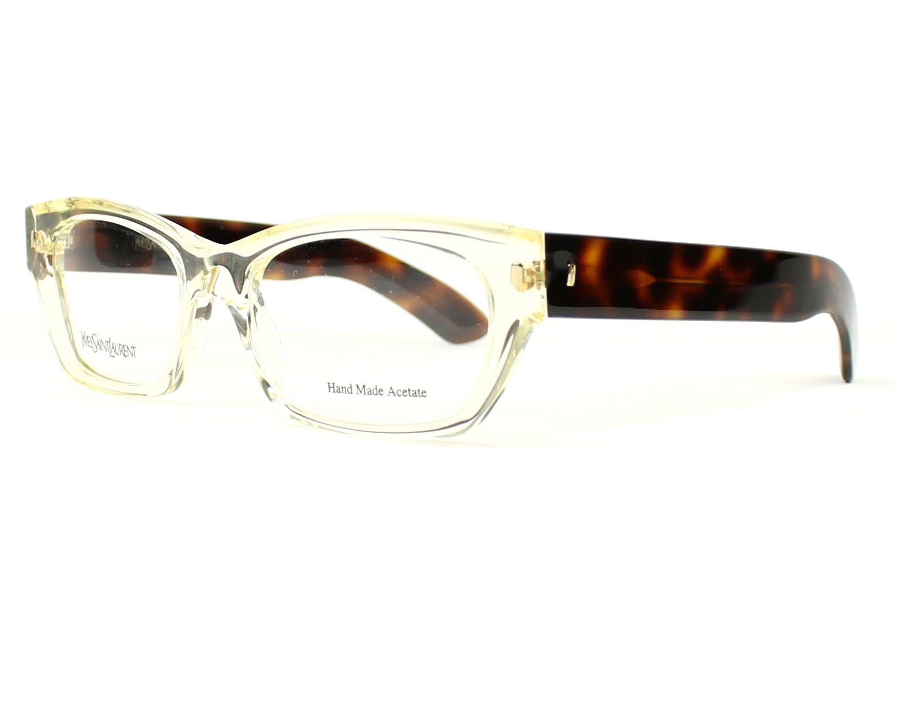 Yves saint laurent eyeglasses ysl 6333 95w white visionet for Miroir yves saint laurent