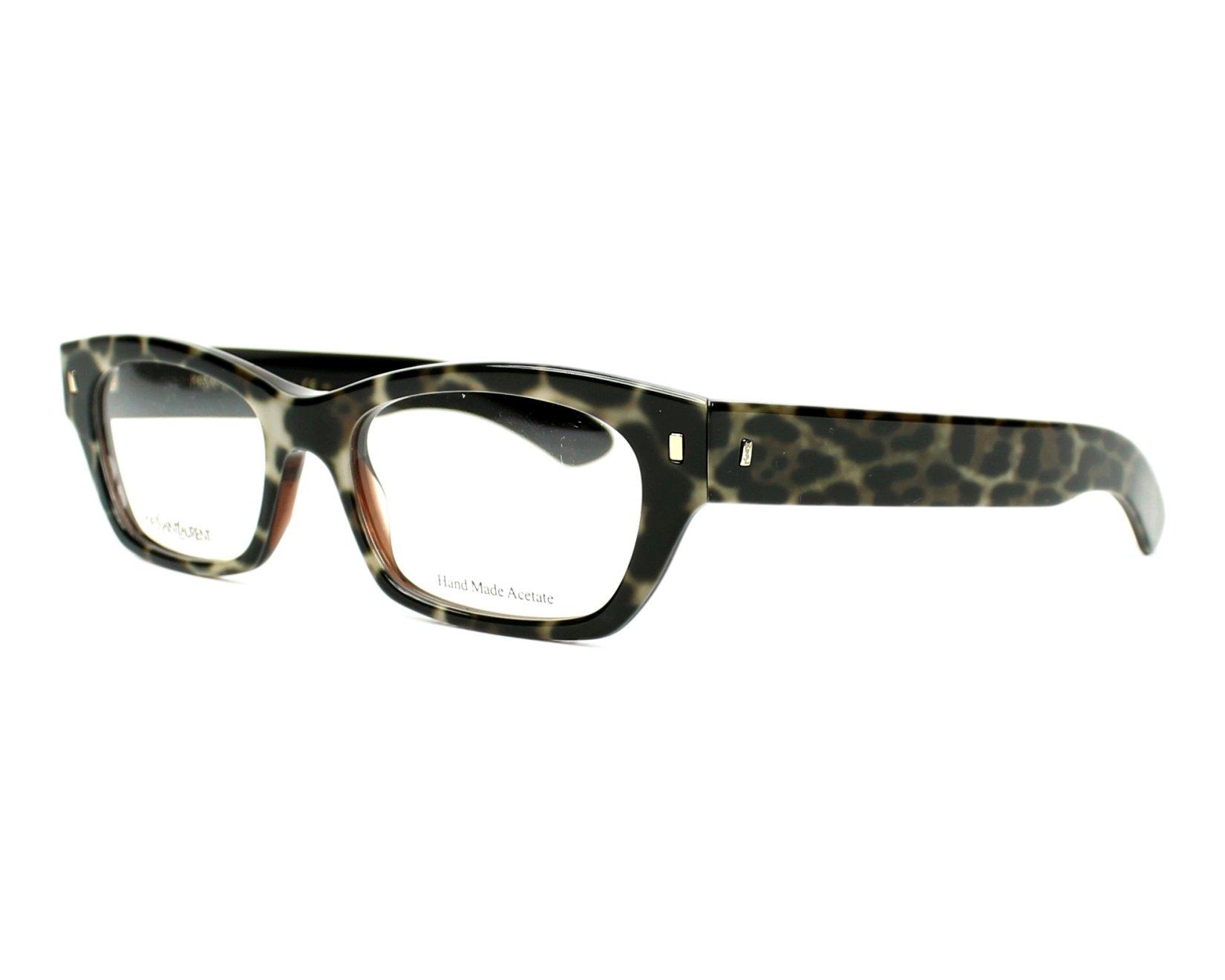 Yves saint laurent eyeglasses ysl 6333 mom black for Miroir yves saint laurent