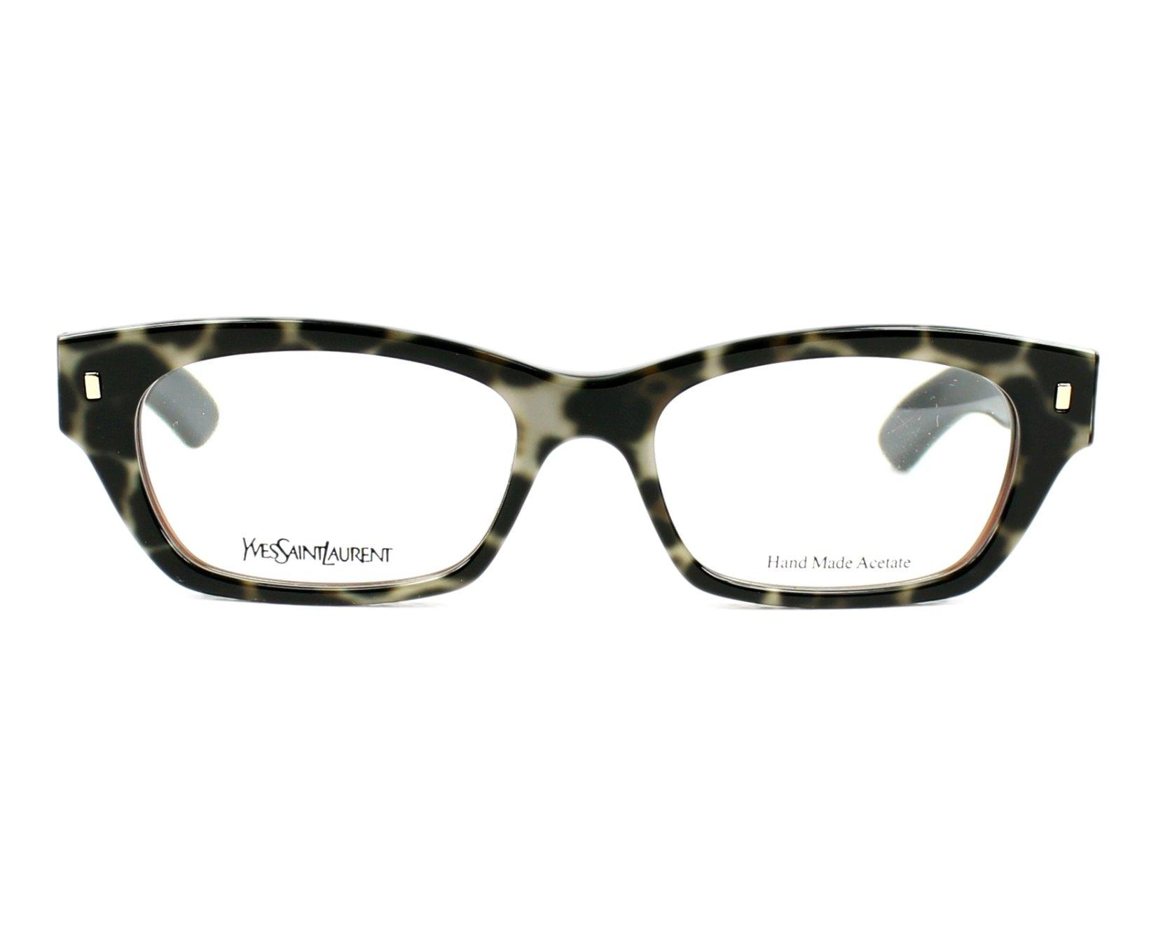 Yves saint laurent eyeglasses ysl 6333 mom black visionet for Miroir yves saint laurent