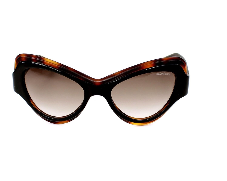 lunettes de soleil de yves saint laurent en ysl 6366 s uvpjs. Black Bedroom Furniture Sets. Home Design Ideas