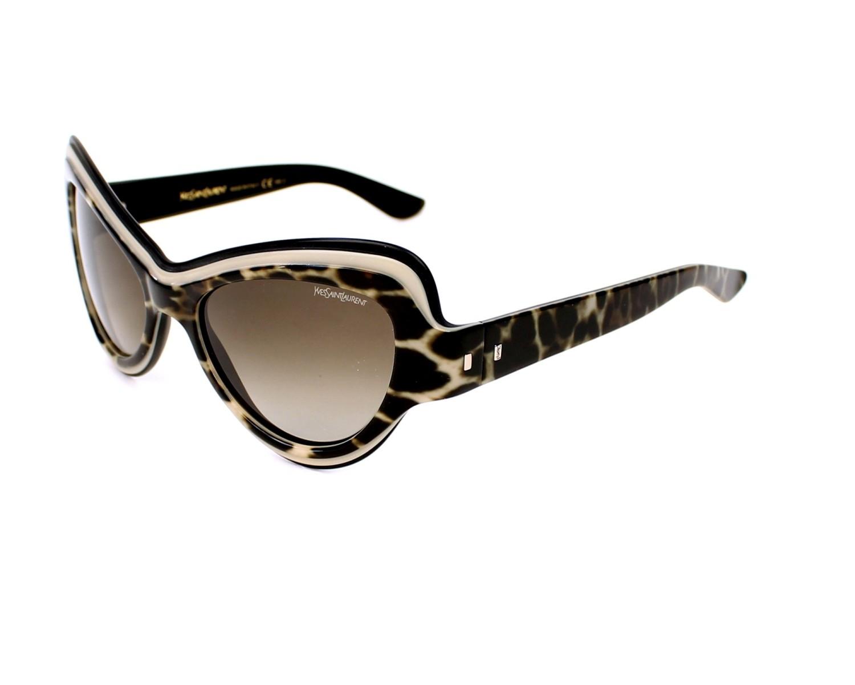 Yves saint laurent sunglasses ysl 6366 s yxoha leo visionet for Miroir yves saint laurent