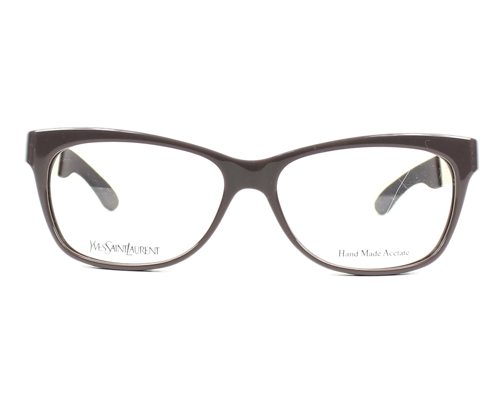 Yves saint laurent eyeglasses ysl 6367 pkz grey visionet for Miroir yves saint laurent