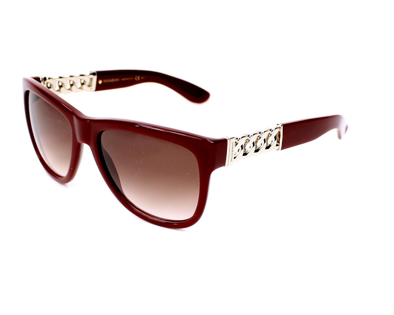lunettes de soleil yves saint laurent ysl 6373 s lhfs2 bordeaux pas cher visionet. Black Bedroom Furniture Sets. Home Design Ideas