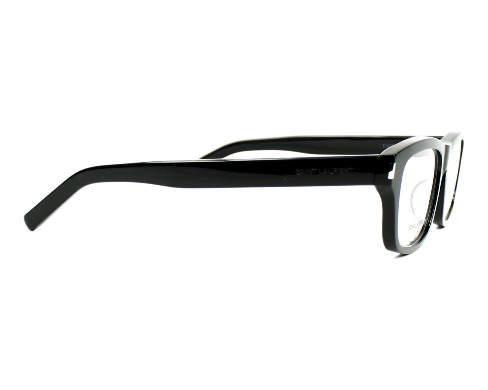 Yves saint laurent eyeglasses yves 6 j 807 black visionet for Miroir yves saint laurent