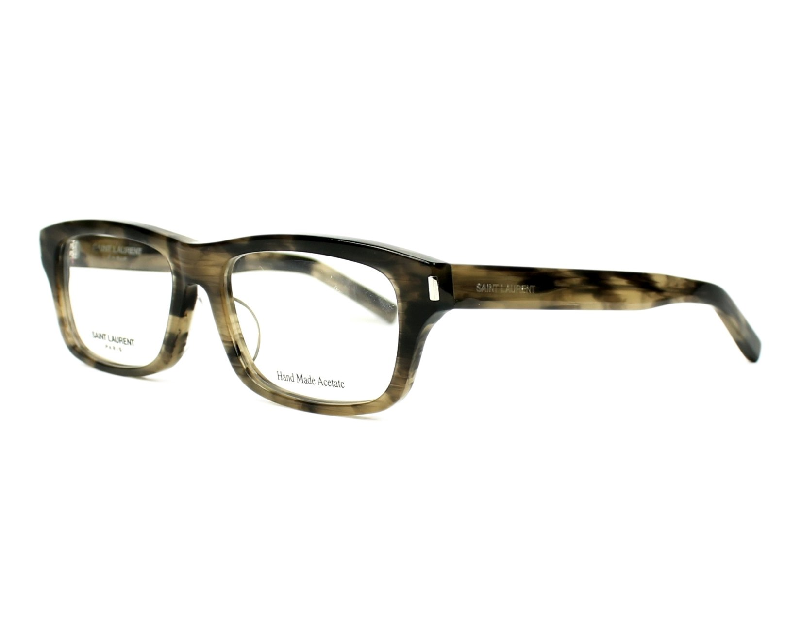 Yves saint laurent eyeglasses yves 6 j wt3 grey visionet for Miroir yves saint laurent