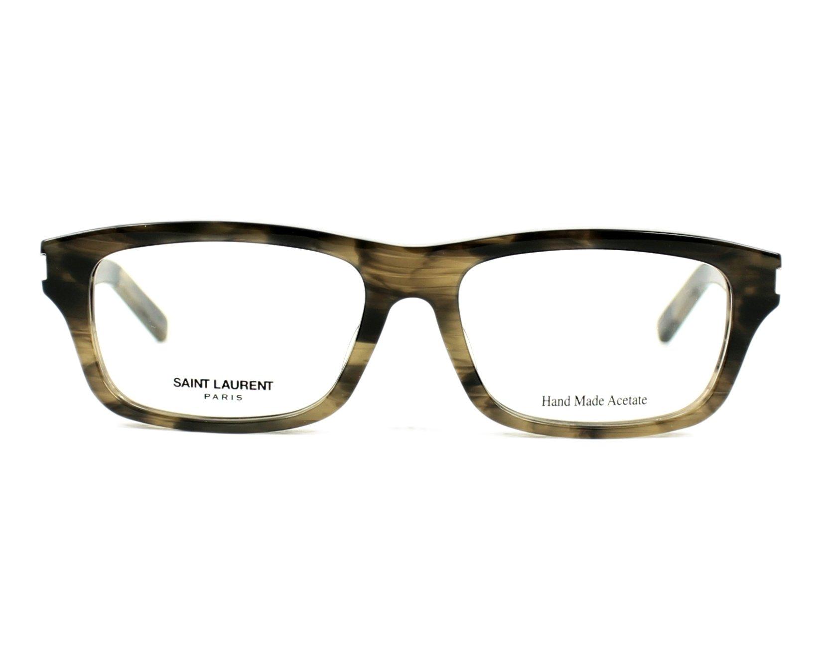Yves saint laurent eyeglasses yves 6 j wt3 grey visionet for Miroir yves saint laurent