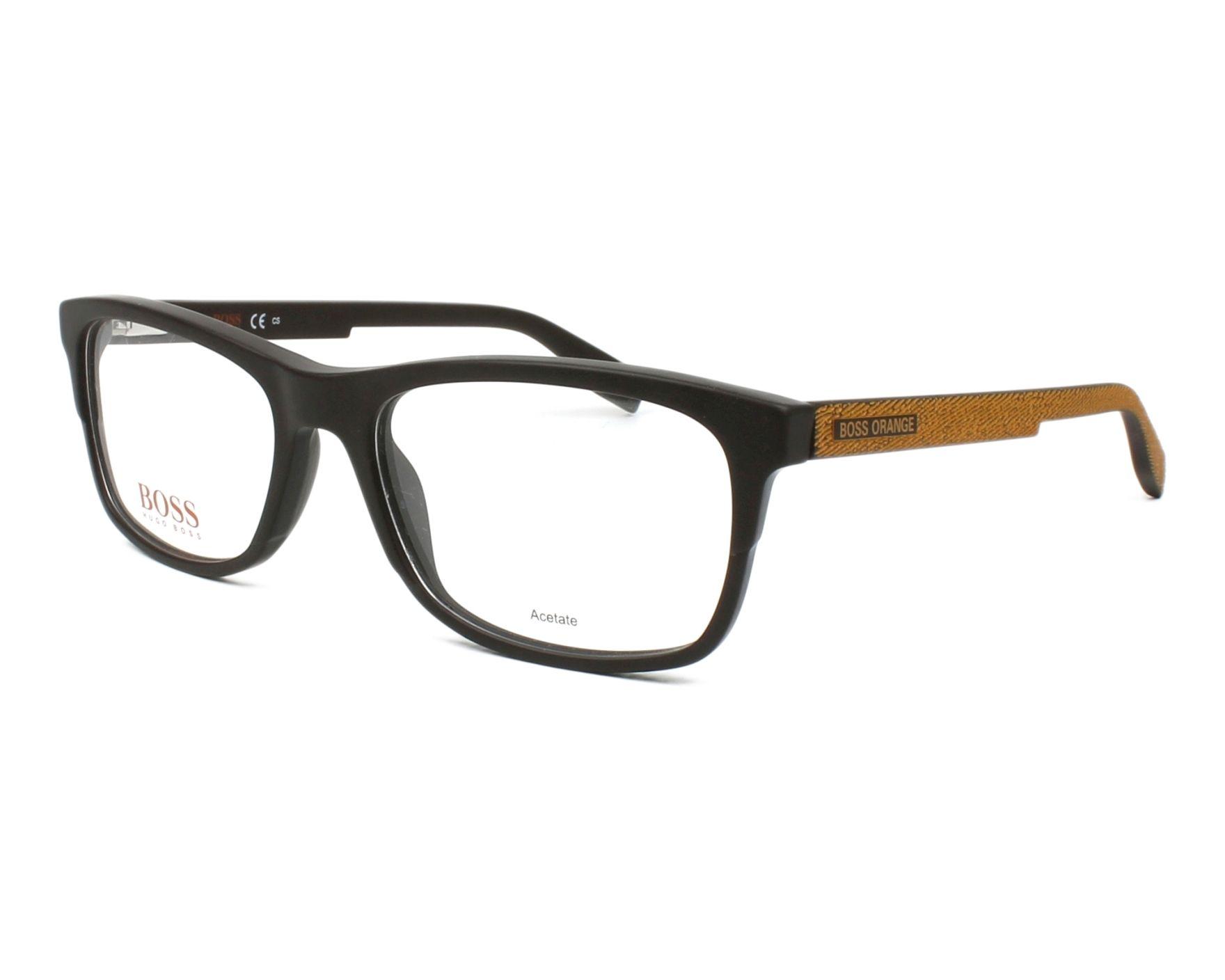 boss orange eyeglasses bo 0292 09q brown visionet. Black Bedroom Furniture Sets. Home Design Ideas