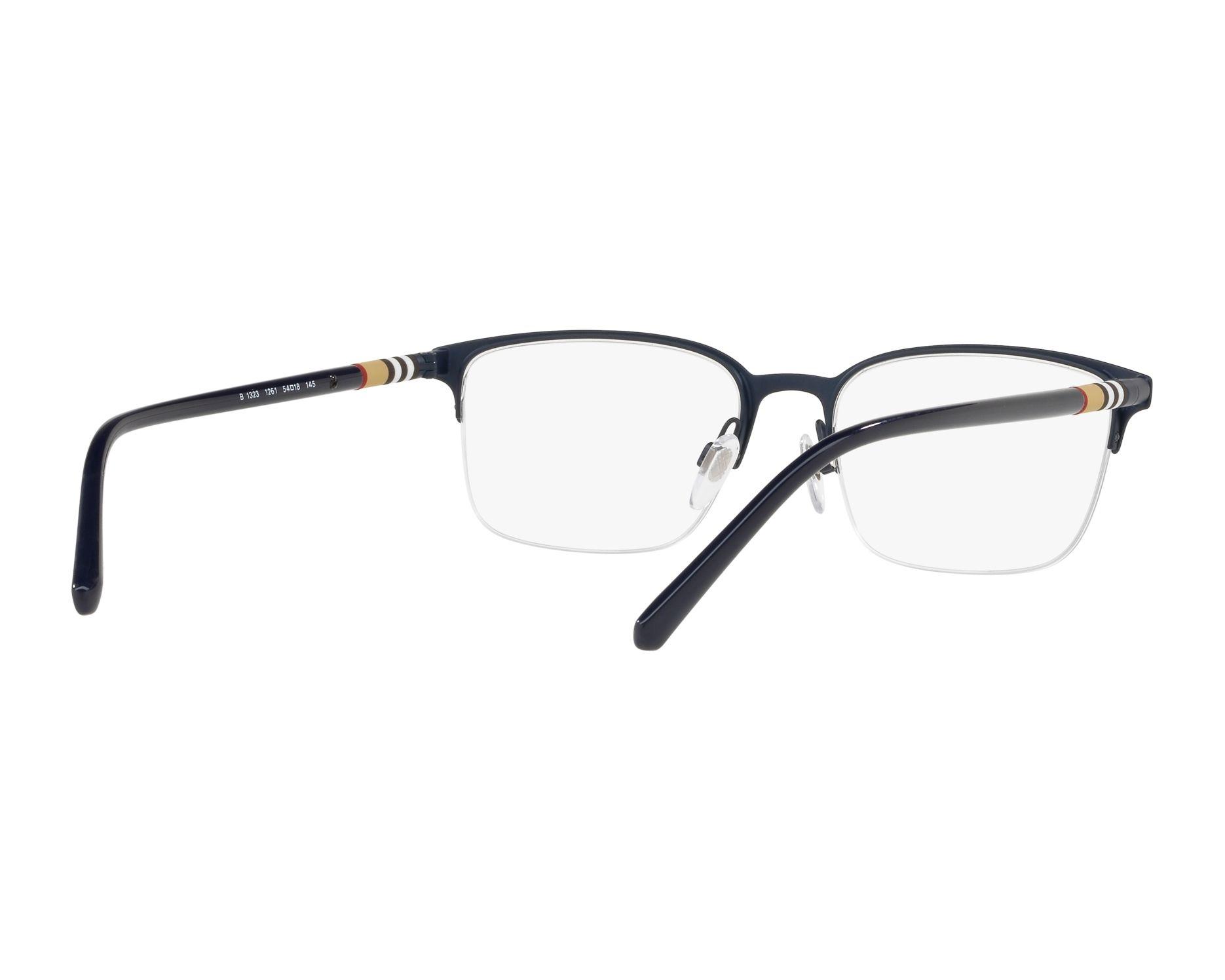 burberry brille be 1323 1261 blau visionet